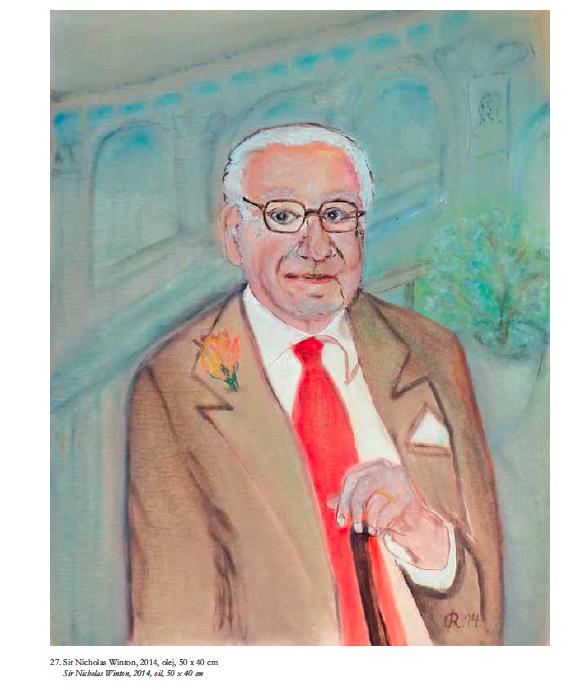 Nicholas Winton od Ruth Hálové