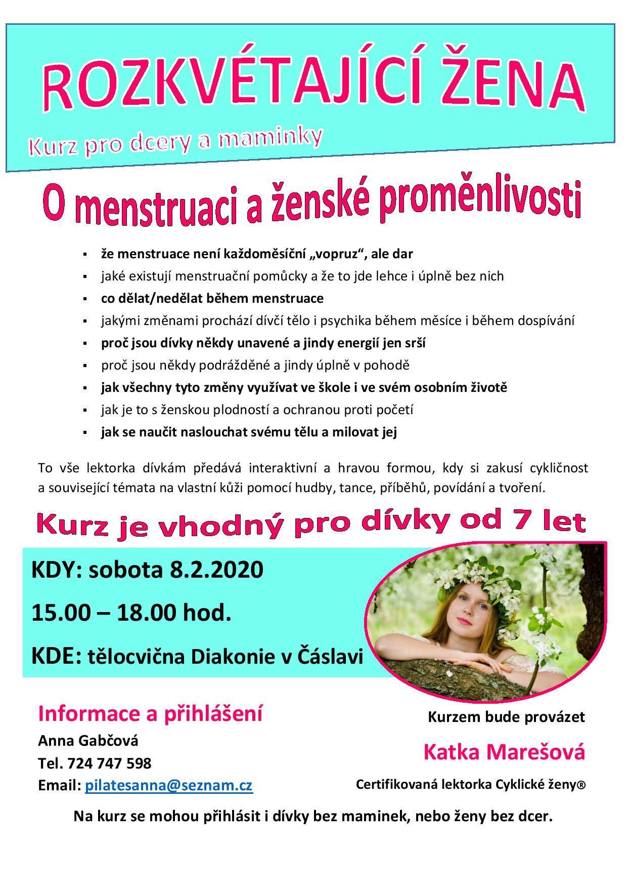 Kateřina Marešová: Rozkvétající žena (Čáslav)