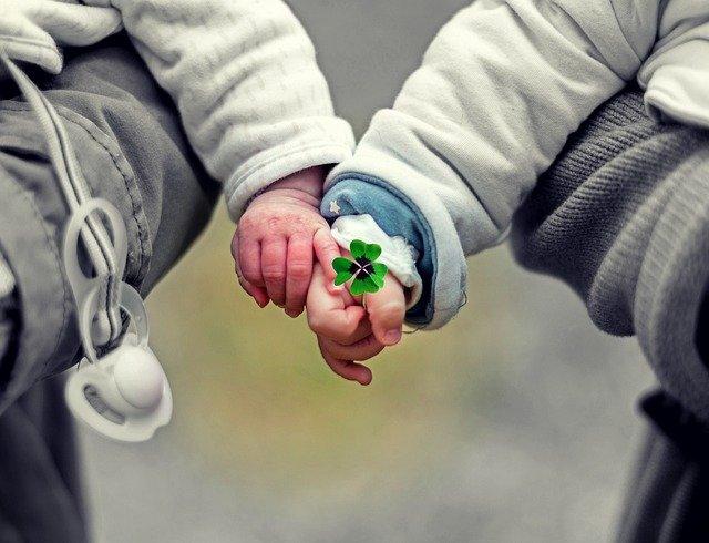dětské ručičky