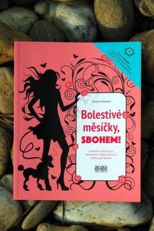 Hledáte radu, jak na bezbolestnou menstruaci? Pořiďte si knihu Bolestivé měsíčky, sbohem!