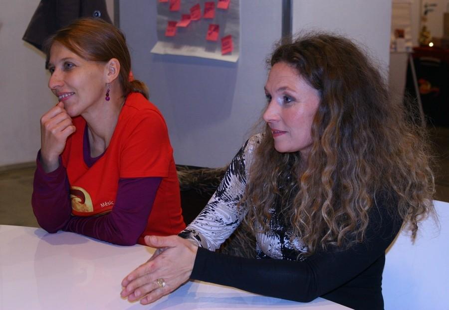 Dana-Sofie Šlancarová a Šárka Weberová Kotvalová v roce 2011