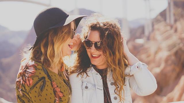 Smějící se ženy